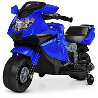 Электромотоцикл детский BambiM 4160-4, 1мотор 25W, 1 аккум 6V4AH, музыка, свет