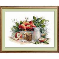 """Набор для вышивания М.П. Студия НВ-537 """"Яблочный спас"""""""