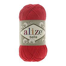 Пряжа Белла Alize (Ализе) цвет 56 красный