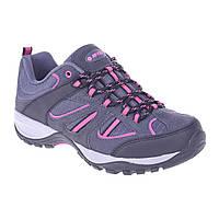 Ботинки Hi-Tec Lady Sarapo Low WP Grey Серый с фиолетовым 37 р 64619BL, КОД: 226949