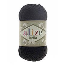 Пряжа Белла Alize (Ализе) цвет 60 черный