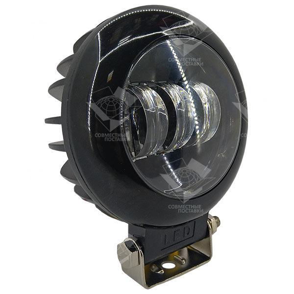 30W (3 x 10W / сверхяркие диоды, круглый корпус) 2100 LM LED фара круглая 30W, 3 лампы 10-30V, 6000K LED30UP
