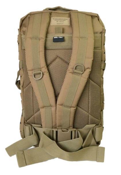 Штурмовой рюкзак Mil-Tec 20 л олива/черный (14002101)