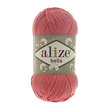 Пряжа Белла Alize (Ализе) цвет 619 коралл