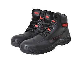 Ботинки защитные со стальными пластинами Hecht 900507 42 Черный h4tHecht 900507, КОД: 1138443