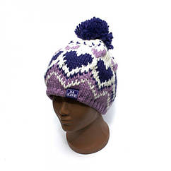 Детская шапка Dakine Фиолетовая с сердечками 01Bn8Zdk15, КОД: 1266652