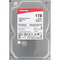 Жесткий диск Toshiba 1 TB P300 7200 rpm 64MB HDWD110UZSVA, КОД: 1074401