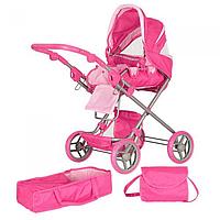 Коляска для куклы Melogo 9333-1 Розовый int9333-1, КОД: 127446