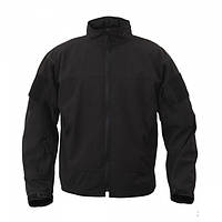 Куртка Rothco Covert Ops Lt Weight Soft Shell Jacket Black, фото 1