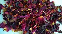 Лепестки чайной розы сушеные 100 г, фото 1