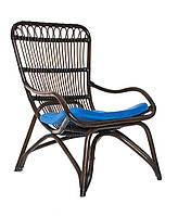 Кресло Cruzo Дрим из натурального ротанга Кофейный kd23-54, КОД: 741905