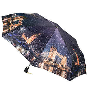 Зонт женский Zest 83744-012, полный автомат, 3 сложения, сатин.