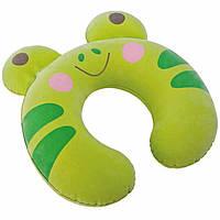 Надувной подголовник Intex 68678 Kidz Travel Pillows Зеленый int68678-1, КОД: 1142961