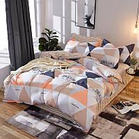 Комплект постельного белья Треугольники (полуторный) Berni
