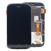 HTC desire x T328e white LCD, модуль, дисплей с сенсорным экраном (в сборе с рамкой)