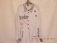 Молодежная стильная рубаха, фото 1
