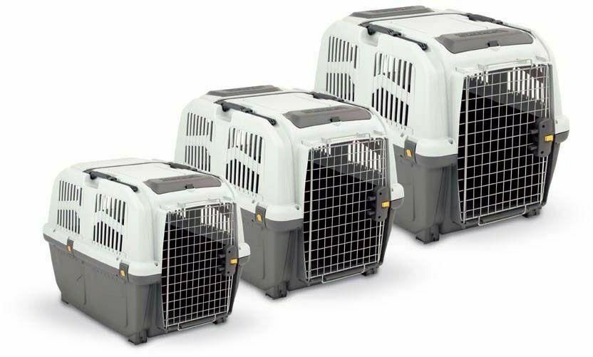 Пластиковая переноска для собак SKUDO IATA, 48х31,5х31 см до 12 см