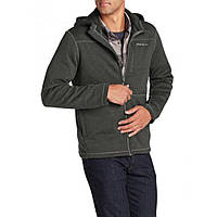 Кофта Eddie Bauer Mens Radiator Full-Zip Hoodie HTR CHARCOAL XL Темно-серый 0272HTCHCL, КОД: 1164749