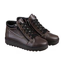 VM-Villomi Короткие  ботинки на зиму темно бежевого цвета