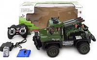 Военный грузовик с ракетной установкой на радиоуправлении 468-322