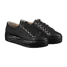 VM-Villomi Кожаные черные с серебром слипоны на шнуровке