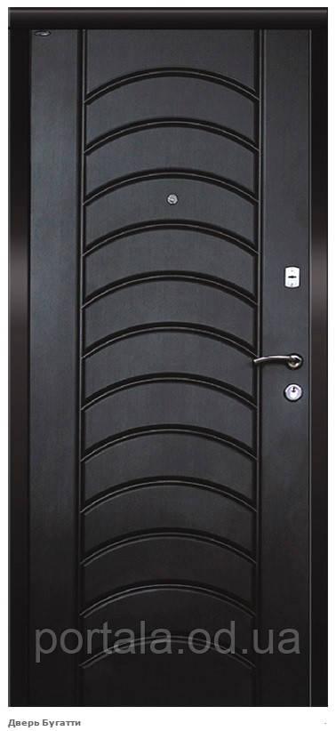 """Входная дверь """"Портала"""" (серия Премиум) ― модель Бугатти, фото 1"""