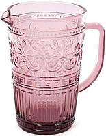 Кувшин Bona Siena Toscana 1.5 л Розовый BD-581-027psg, КОД: 182126
