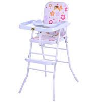Стульчик для кормления Kronos Toys HB 303-8 Розовый intHB 303-8, КОД: 961658