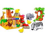 Детский конструктор jdlt зоопарк , фото 2