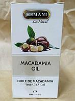 100% Натуральное масло ореха макадамия Hemani 30 мл, фото 1