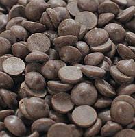 Черный шоколад в каллетах 72% 100 г