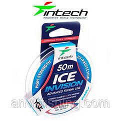 Леска для зимней рыбалки Intech Invision Ice Line - 50 метров Диаметр 0,08 мм  - 0,61 кг