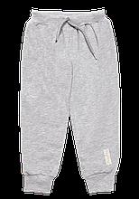 Детский брюки для девочки BR-19-29 *Друзья* (цвет серый. Размер 74)