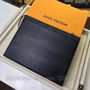 Черная папка для документов Louis Vuitton