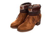 Ботинки женские Kylie crazy kantri 36 Коричневый 1660801, КОД: 226302