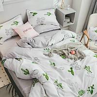 Комплект постельного белья Кактусы  (евро) Berni