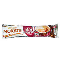 Растворимый напиток Mokate 3 в 1 Silver 18 г х 50 шт 26.101, КОД: 366995