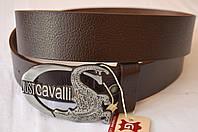 Кожаный мужской ремень Just Cavalli