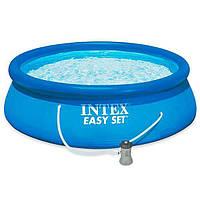 Бассейн семейный  Intex 28143 396 х 84 см int28143, КОД: 109812