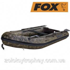 Надувная лодка Fox FX320 Camo Hard back marine ply floor