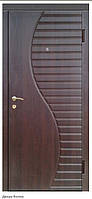 """Входная дверь """"Портала"""" (серия Элегант) ― модель Волна (950*2040 лев.)"""