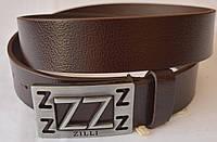 Кожаный мужской ремень ZILLI2