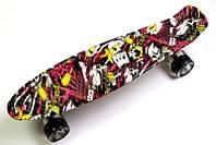 Пенни борд Deck Разноцветный 64017368, КОД: 1280262