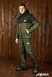 Зимовий спортивний костюм чоловічий (Куртка і штани Розмір 46 48 50 52 54 В наявності 4 кольори, фото 4