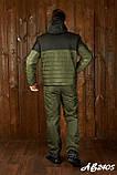 Зимовий спортивний костюм чоловічий (Куртка і штани Розмір 46 48 50 52 54 В наявності 4 кольори, фото 8