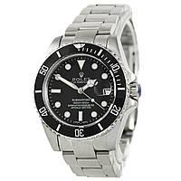 Часы наручные женские Rolex Submariner серебристые