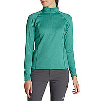 Кофта Eddie Bauer Womens High Route Fleece Pullover EMERALD XS Зеленая 5830EM-XS, КОД: 270419