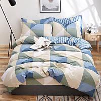Комплект постельного белья Треугольники (евро) Berni