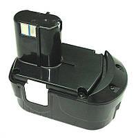 Аккумулятор для шуруповерта Hitachi EB 1826HL 2.0Ah 18V Черный 456543, КОД: 1098883