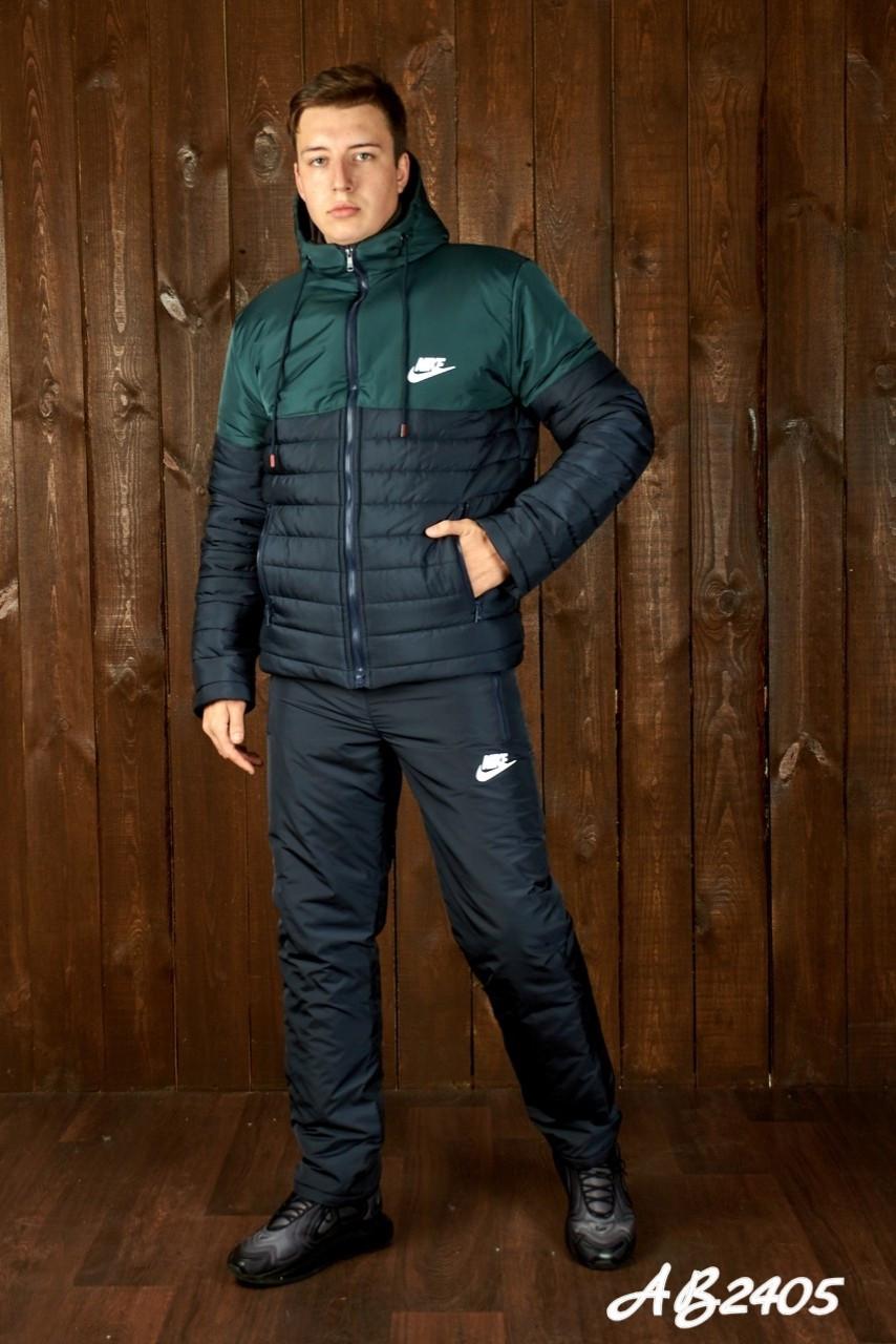Зимовий спортивний костюм чоловічий (Куртка і штани Розмір 46 48 50 52 54 В наявності 4 кольори